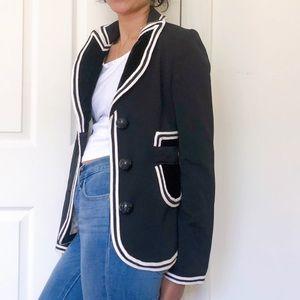 Mulberry black blazer jacket JT